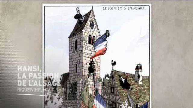 (vidéo) L'Alsace tricolore de Hansi