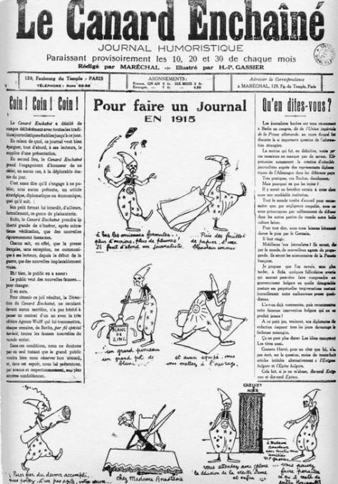 402 journal du 10 septembre 1915 naissance du canard encha n 1914 1918 reims dans la grande - Bassin canard mauritius saint paul ...