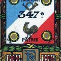441/journal du 19 octobre 1915: gaz asphyxiants au-dessus de la Pompelle pour le 347 ème RI