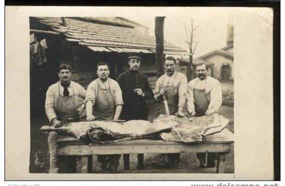 Conseil municipal du 30 septembre 1915: les bouchers et charcutiers rémois  sur la sellette
