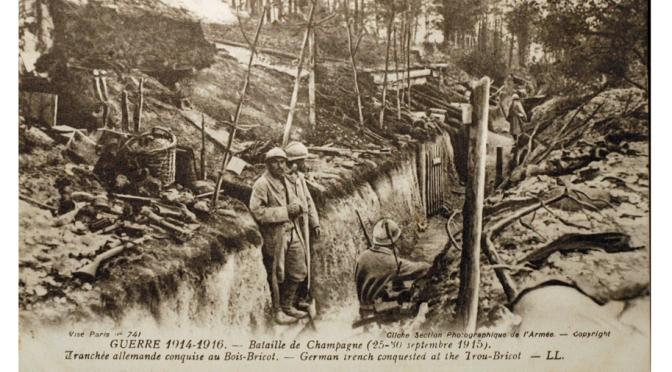 414/journal du 22 septembre 1915: prêt pour la bataille de Champagne
