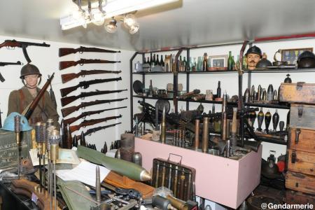 Six tonnes d'obus et de munitions découvertes à Abbécourt (02)