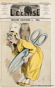 Gill André (dit), Gosset de Guines André (1840-1885). Paris, Bibliothèque nationale de France (BnF). YA1-115-FOL Numéro 299, page 1.