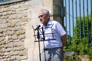 Daniel Charles, ancien maire, président de l'association Le Regain