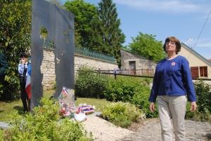 Nicole Aurigny, présidente de la Libre Pensée de l'Aisne et vice-présidente nationale