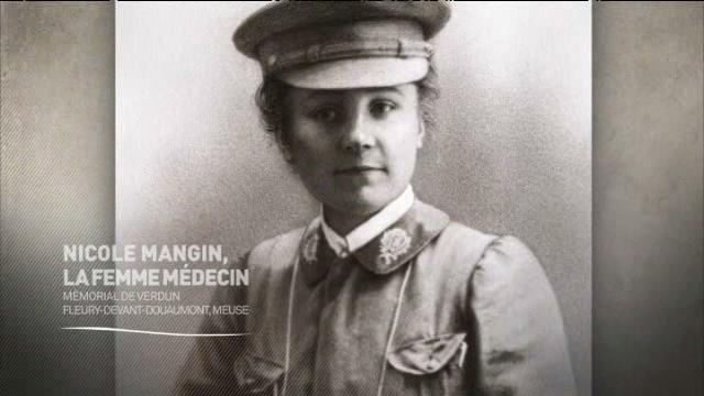 (vidéo) Histoires 14-18 : Nicole Mangin, chirurgienne