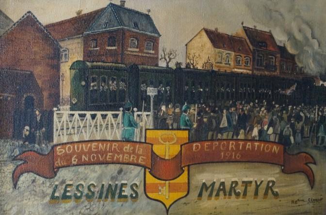 805/16 octobre 1916: déportation de travailleurs belges en Allemagne