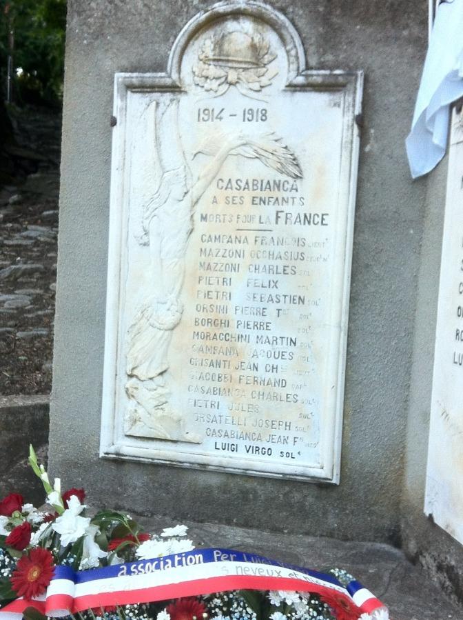 762/3 septembre 1916: le Corse Virgo Luigi fusillé