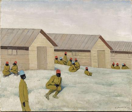 828/8 novembre 1916: Mailly: des artistes envoyés sur le front