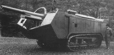 840/20 novembre 1916: char prototype français l'automobillette