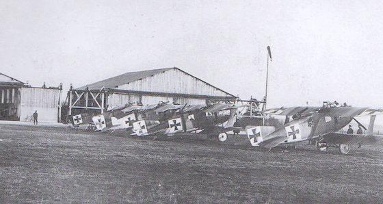 Atlas des aérodromes de la guerre de 14-18 dans l'Aisne