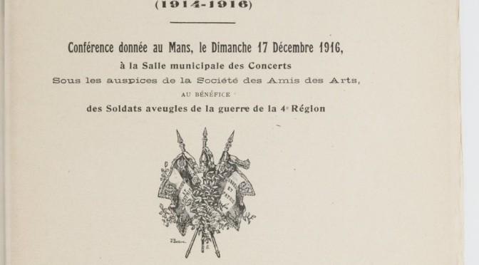 867/journal du 17 décembre 1916: une conférence sur le bombardement de la cathédrale de Reims