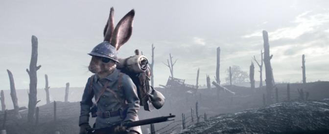 (création vidéo) Poilus : la guerre des tranchées reconstituée avec des soldats lapins