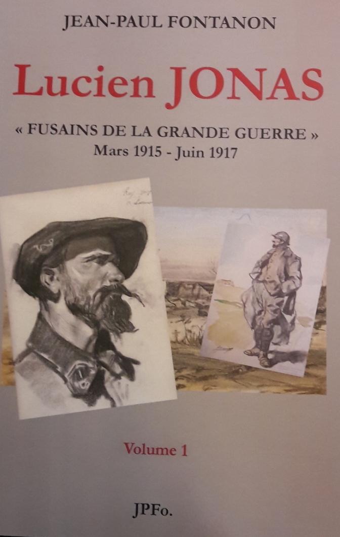 Livre: Jean-Paul Fontanon rend hommage au dessinateur de la grande guerre Lucien Jonas