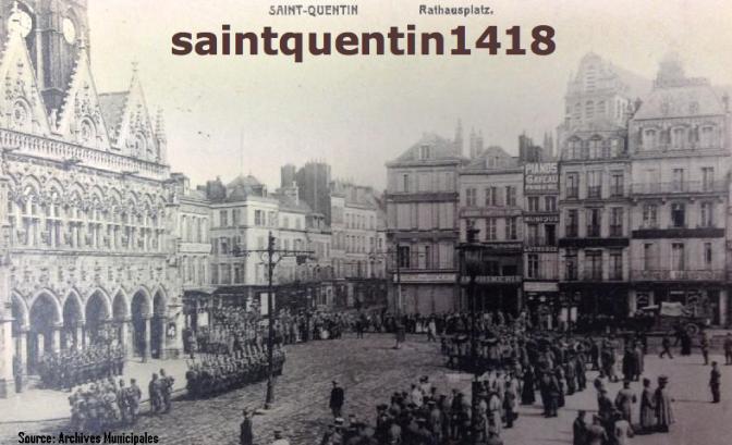 901/Journal du 20 janvier 1917: des habitants de Guise (Aisne) évacués par les Allemands