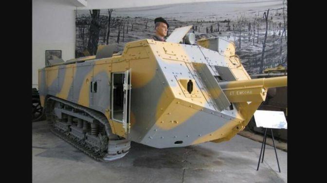 (vidéo)Des Vauclusiens contruisent un char de la première guerre mondiale