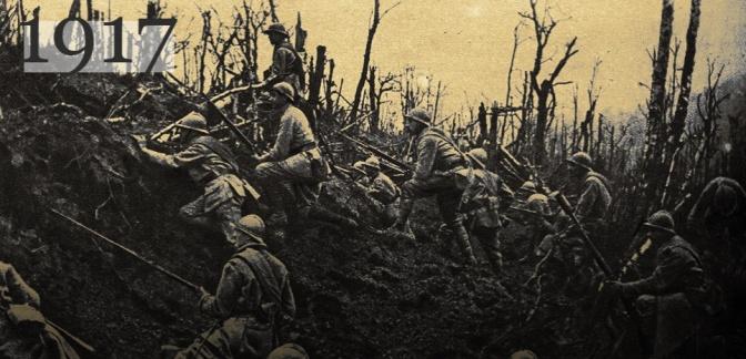 1917: Des mutineries éclatent partout dans l'armée française