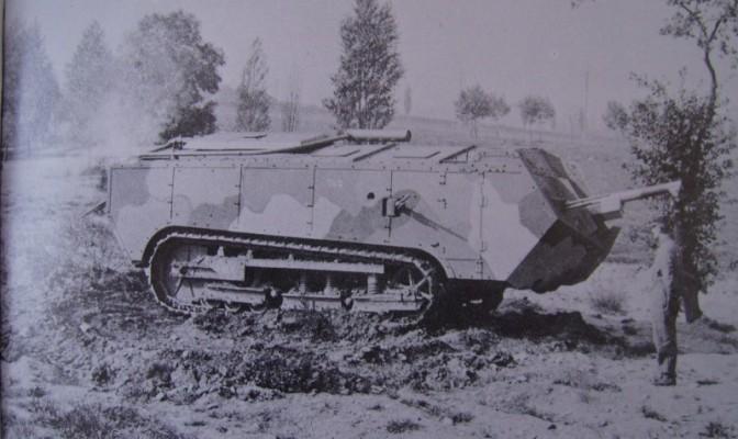 935/23 février 1917: les premiers chars Saint-Chamond sont livrés