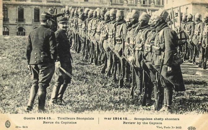 929/17 février 1917: les tirailleurs sénégalais furent-ils de la «chair à canon» ?