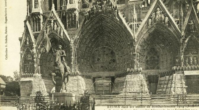 944/4 mars 1917: Vivre sous terre comme des renards à Reims