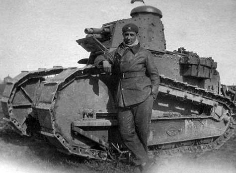 934/22 février 1917: une commande de 150 chars Renault FT