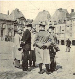 936/24 février 1917: pillage d'une ville: Charleville (Ardennes)