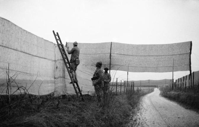 958/18 mars 1917: camouflage près de Villers-Franqueux (Marne)