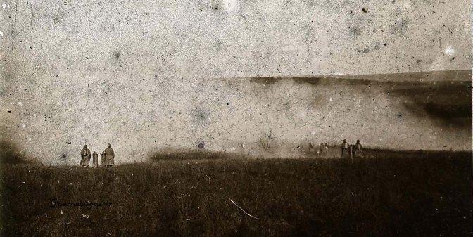 953/13 mars 1917: un rapport sur les attaques au gaz en champagne qui ont fait 470 morts