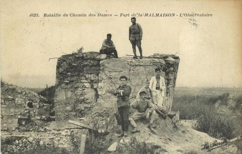 987/16 avril 1917: début de la bataille du chemin des Dames