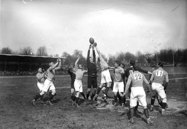 979/8 avril 1917: (vidéo) Du rugby avant l'offensive du Chemin des Dames