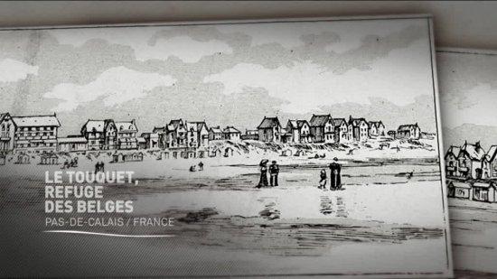 (vidéo) Histoires 14-18 : Le Touquet, refuge des belges7