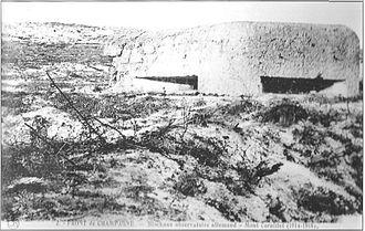 1021/20 mai 1917:unobus tue des centaines d'allemands au Mt Cornillet (51)