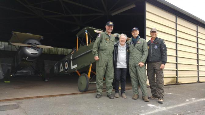 Des avions canadiens de 14-18 prêts à fêter le centenaire de la bataille de Vimy