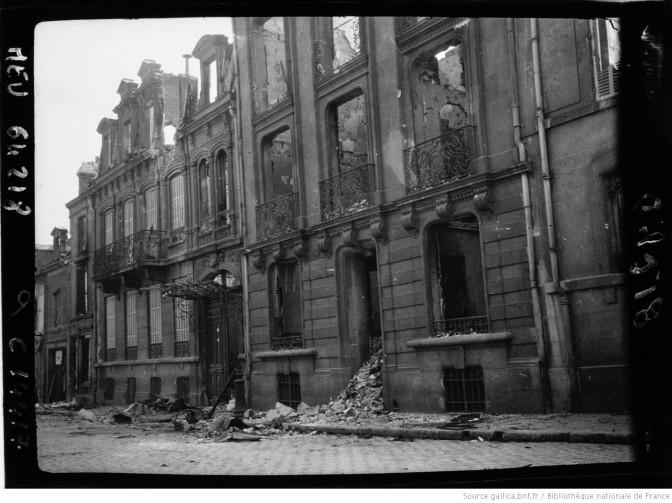 1005/ 4 mai 1917: la bataille du Chemin des Dames continue