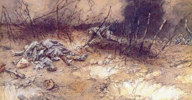 1006/5mai 1917: le 19 ème RI attaque sur Hurtebise (chemin des Dames)