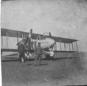 984/13 avril 1917: un avion français battu au-dessus de Baconnes (51)