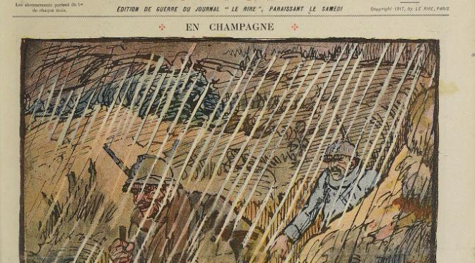 1027/26 mai 1917: Gabriel aux Bois des buttes près de Craonne