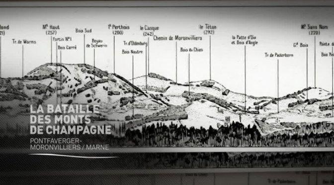 (vidéo) La bataille des monts de Champagne