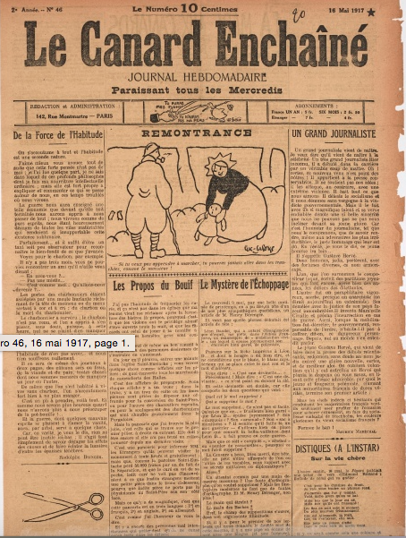 1017/16 mai 1917
