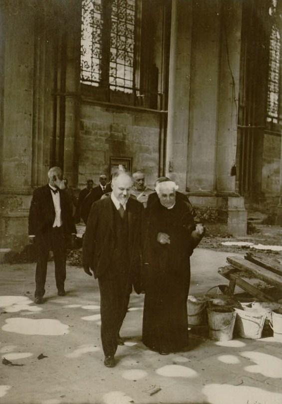 1049/17 juin: visite du président Poincaré à Reims