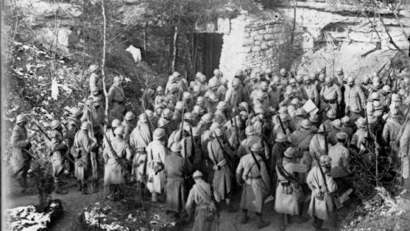 1052/20 juin 1917: Charles Vally, mutin, fusillé