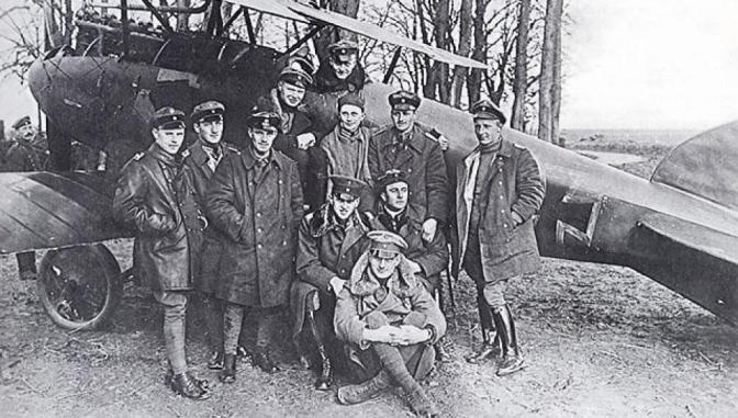 1059/27 juin 1917: Manfred Von Richthofen : le pilote qui devint Baron rouge à Roucourt (59)