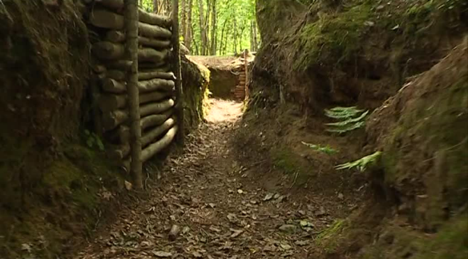 (vidéo) Des tranchées dans le Finistère
