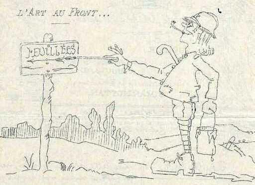 1094/1 août 1917: naissance de la gazette du Créneau