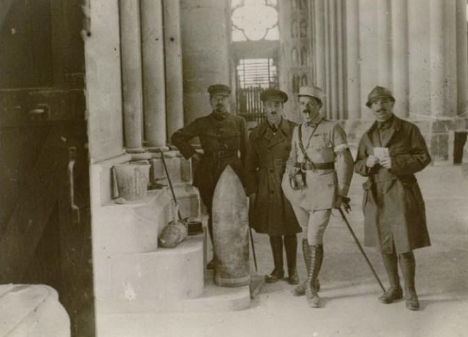 1082/20 juillet 1917: des journalistes à Reims