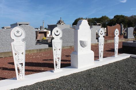 1061/29 juin 1917: des tirailleurs sénégalais inhumés sur l'île d'Oléron