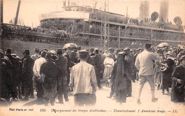 1058/26 juin 1917: L'arrivée des Américains à Saint-Nazaire (suite)