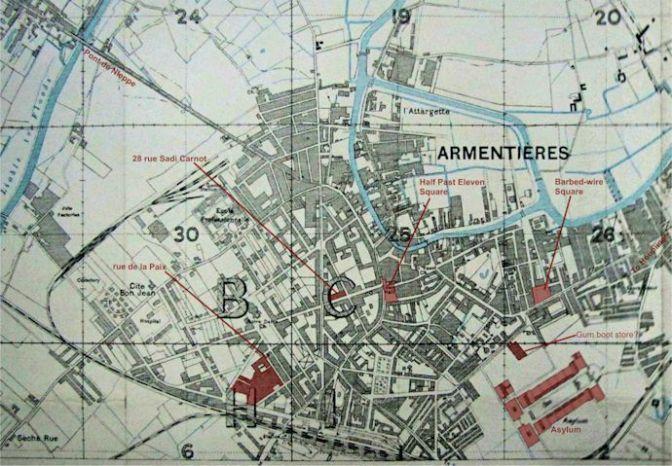 1083/21 juillet 1917: L'utilisation des gaz à Armentières (Nord)