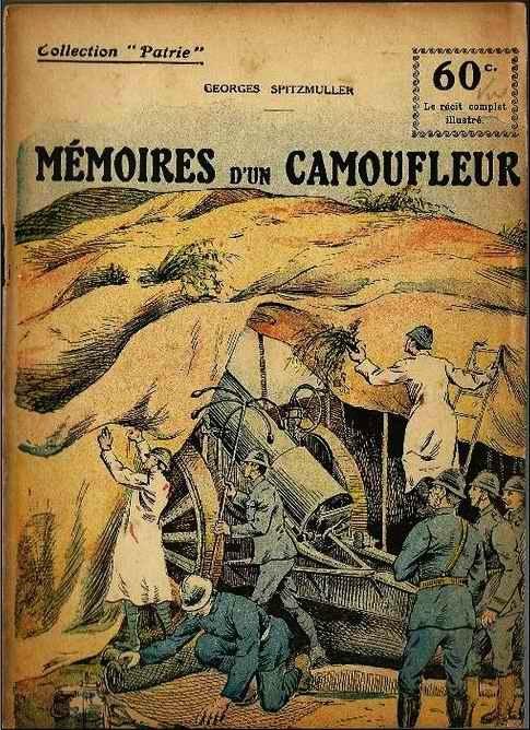 1116/23 août 1917: le camouflage, c'est de l'art