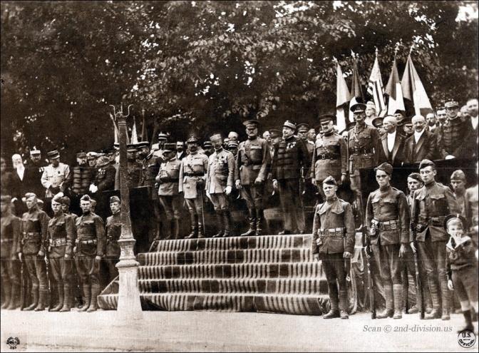 1125/1 septembre 1917: installation du quartier général américain à Chaumont (52)